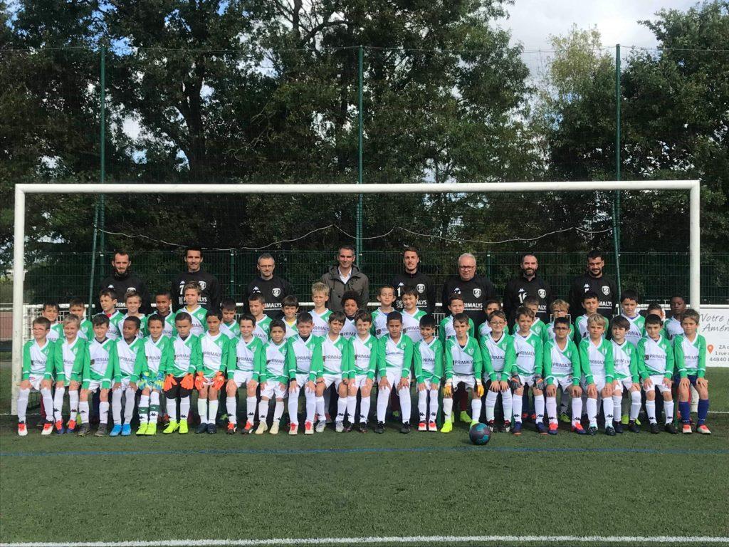 La saison 2019 – 2020 avec l'Elan Sorinières Football