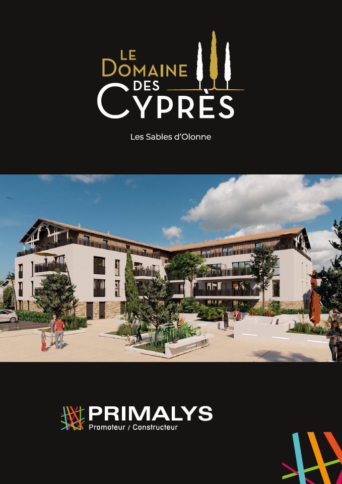 Brochure Le Domaine des Cyprès Olonne Primalys