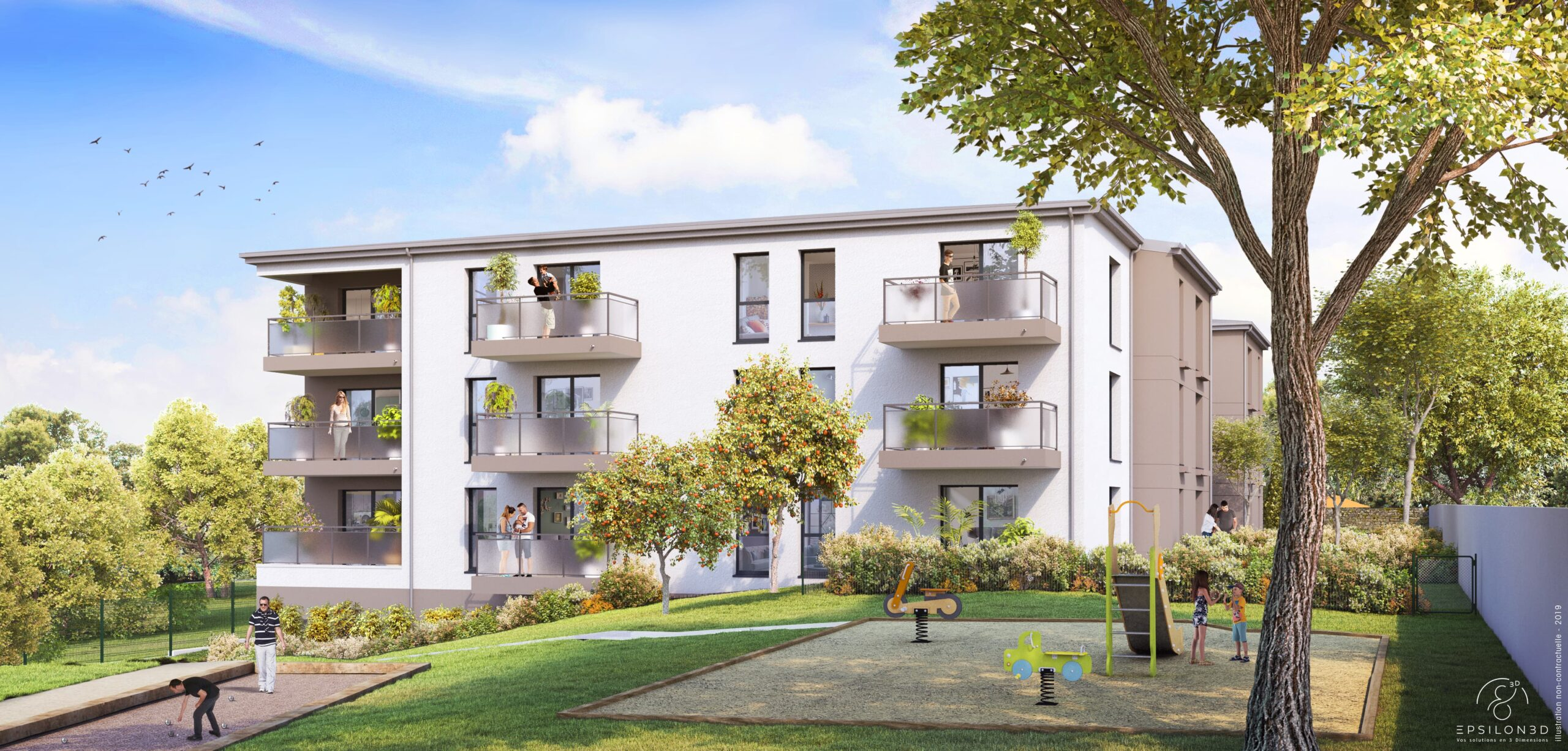 Livraison de logements neufs à Saint-Nazaire (44) : zoom sur le programme immobilier « Fleur d'eau »