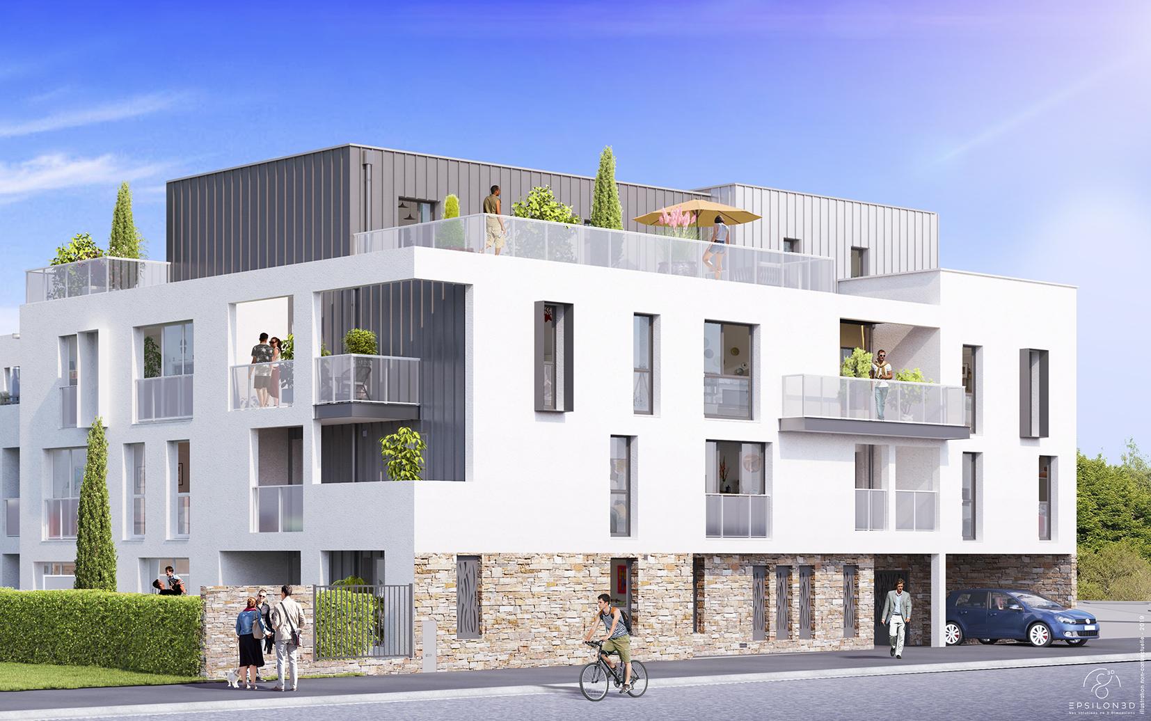 Livraison de «Villa Cassière», un programme immobilier neuf situé aux Sorinières (44)