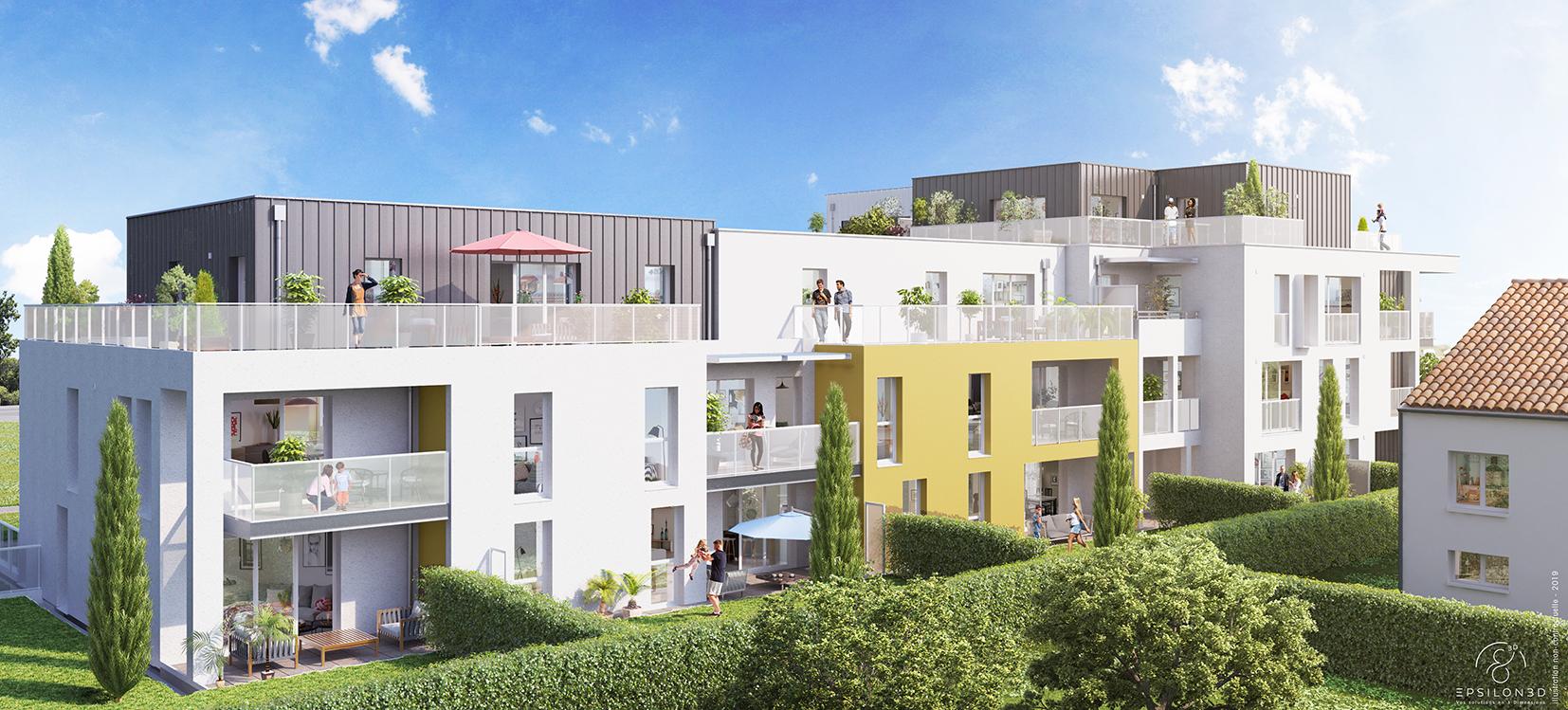 Balcon, terrasse ou jardin: les avantages d'un logement neuf