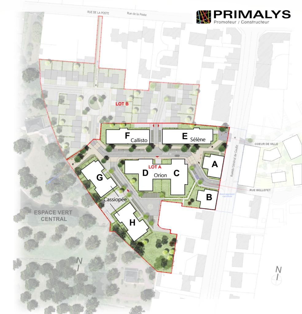 Suivi de chantier aux Sorinières avec le programme Les Pléiades réalisé par Primalys